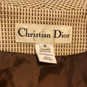 Christian Dior suit jacket